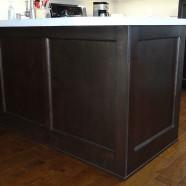 Cabinet Accessories – Decorative Peninsula Frame Work